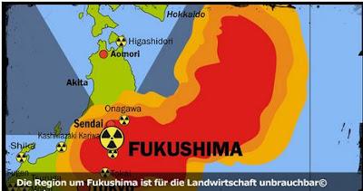 Fukushima Pazifik Verseucht