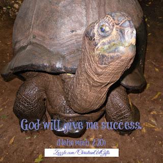 God will give me success Nehemiah 2:20