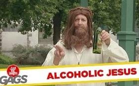 Funny Video – Alcoholic Jesus & Weird Cop Pranks