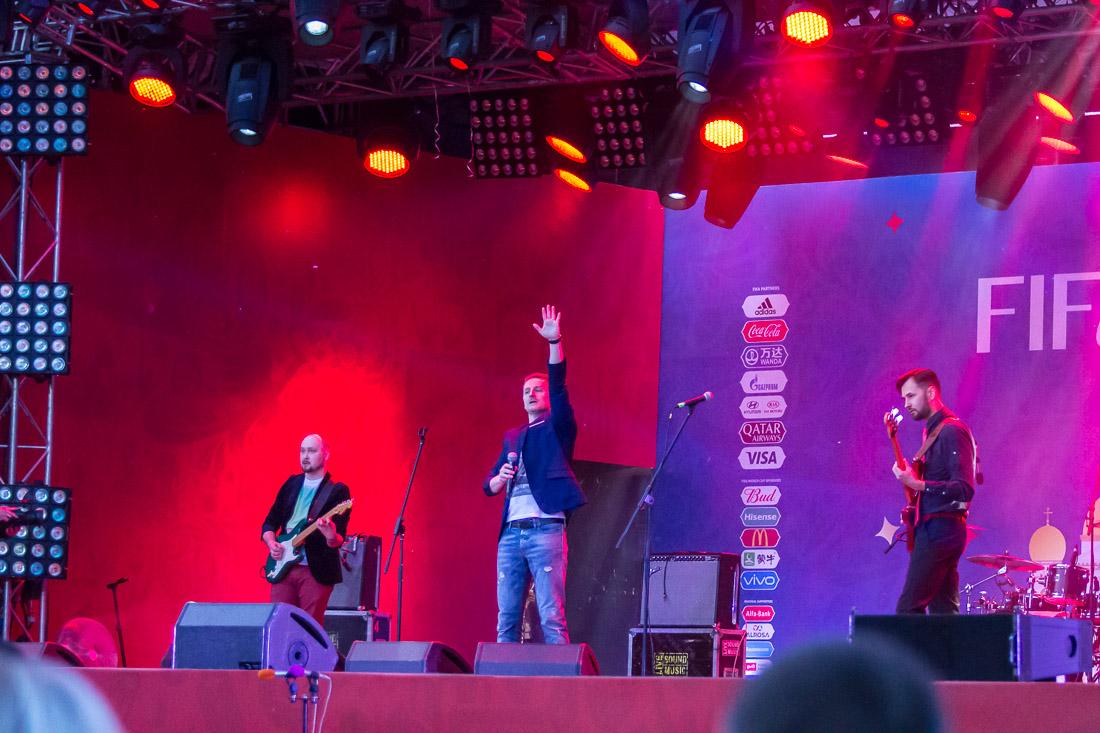 October Sun на сцене в Саранске