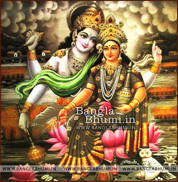 Mata Laxmi Narayan Super Indian God HD Poster Wallpaper Free Download