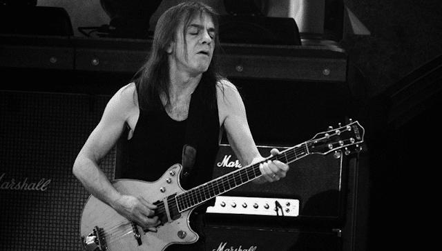 AC/DC - Falece Malcolm Young, fundador da banda
