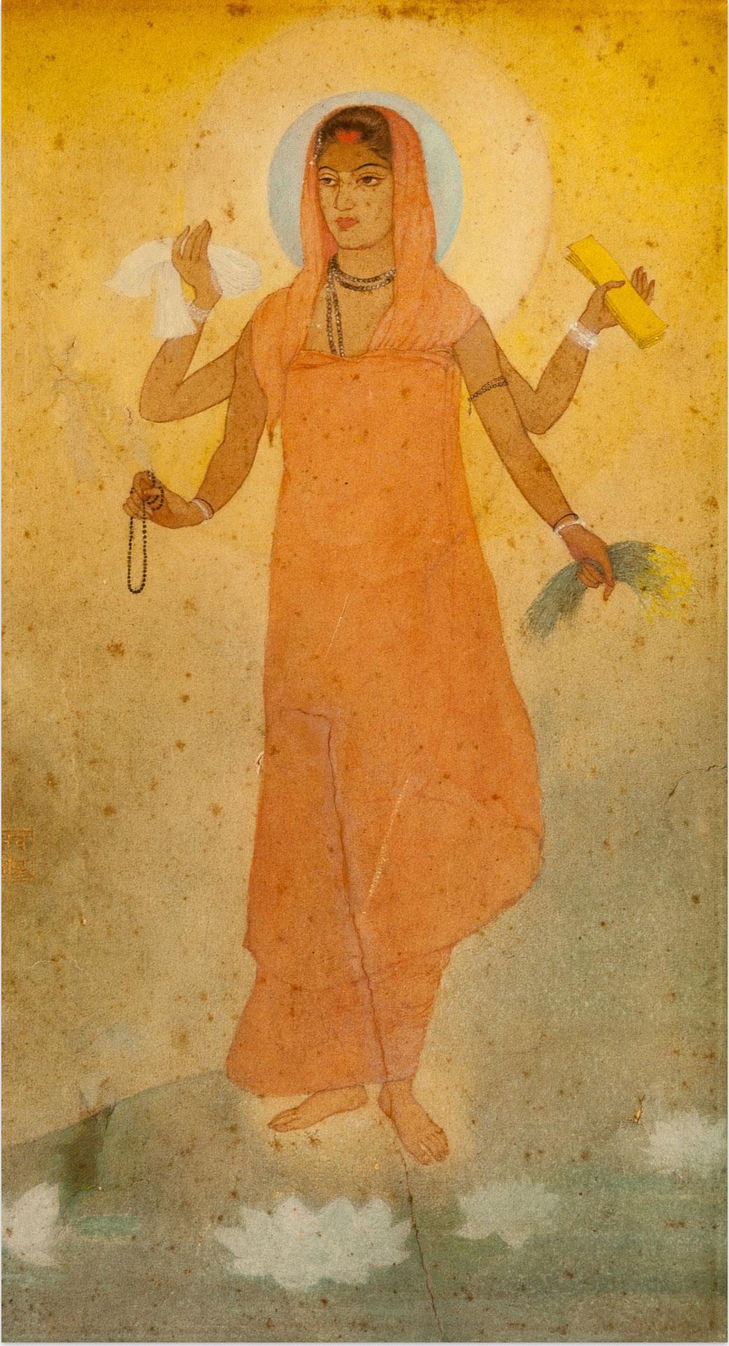 Bharatmata by Abanindranath Tagore 1905