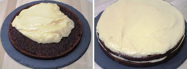Tarta de cacao sin gluten (Siempredulces) - Elaboración Paso 3