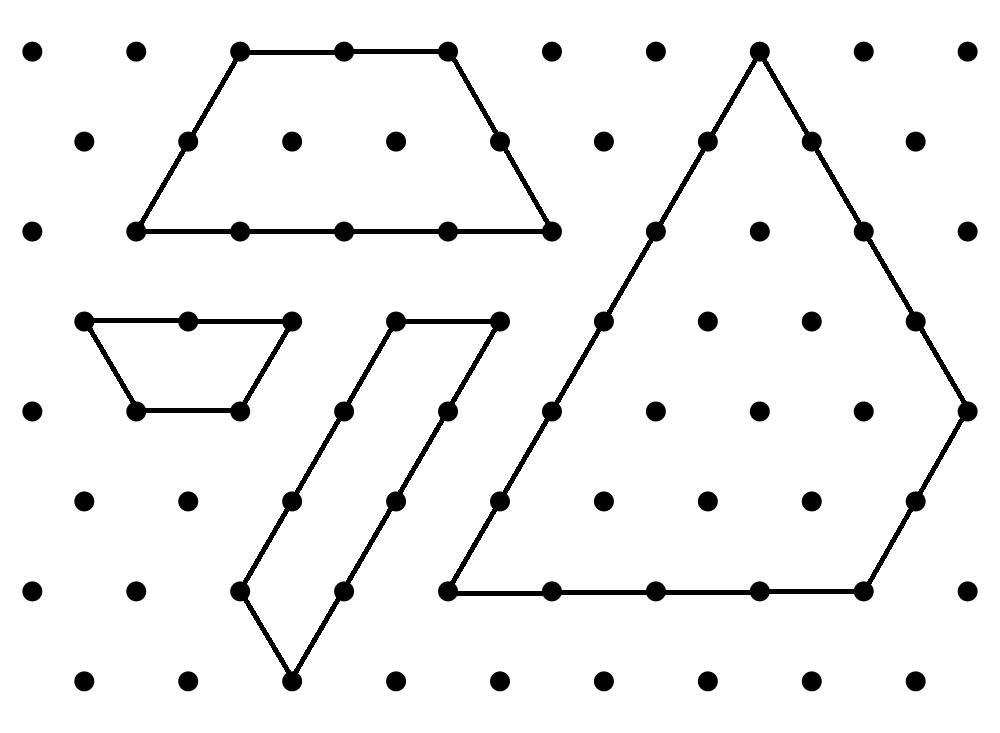 MEDIAN Don Steward mathematics teaching: isometric shape areas