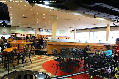 Mitsuwa Food Court by Stephanie Liu