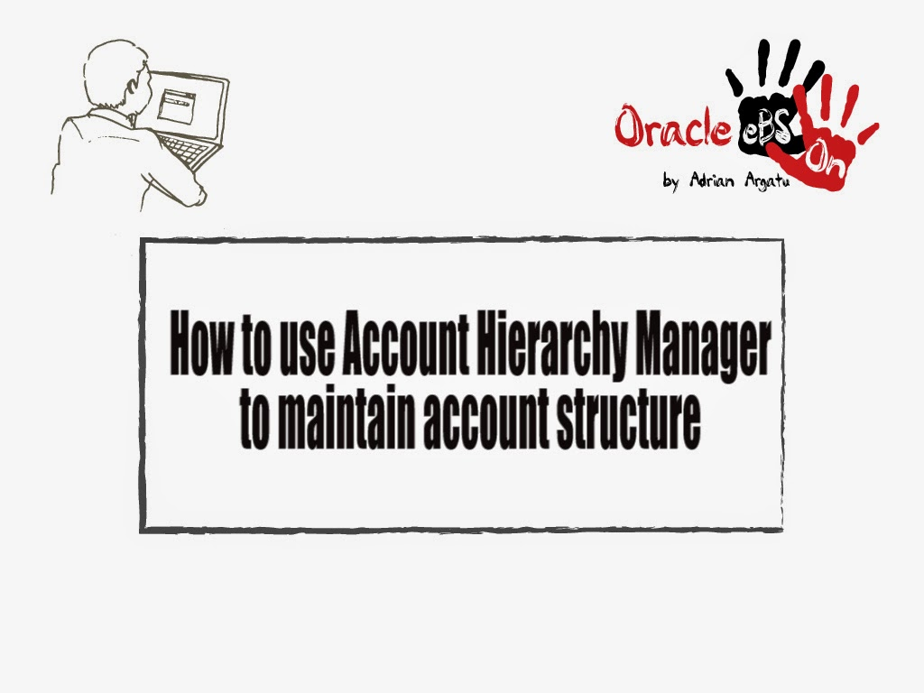 Oracle EBS Hands-on: How to Use Account Hierarchy Manager