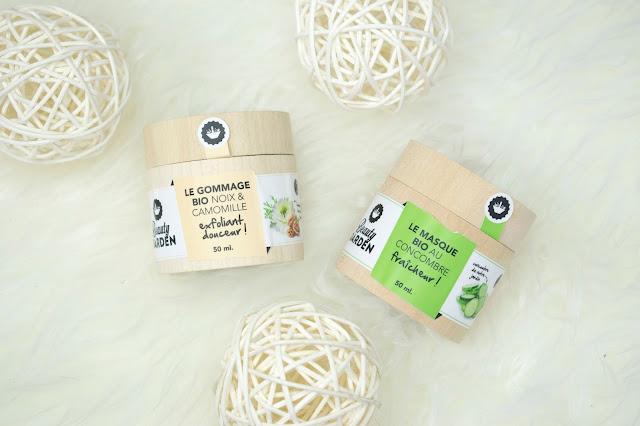 [496.] Maseczka oraz peeling Beauty Garden- francuskie kosmetyki naturalne dostępne w PL!