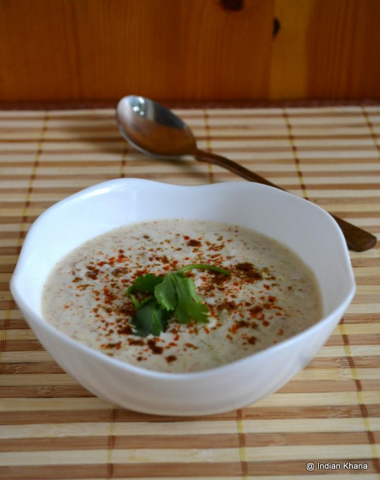 Bottlegourd Lauki Raita Recipe