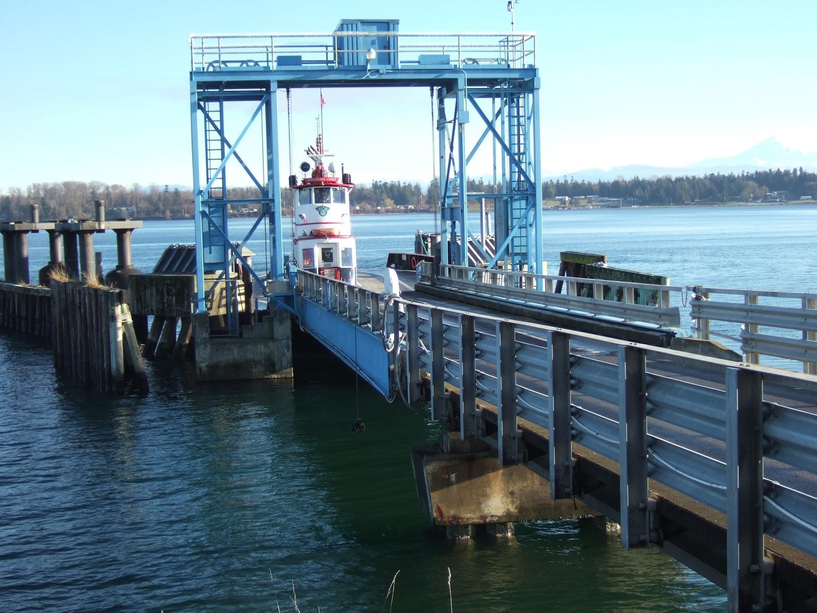 Lummi Island Ferry Dock
