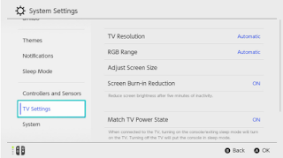 Nintendo Switch Tv Brightness