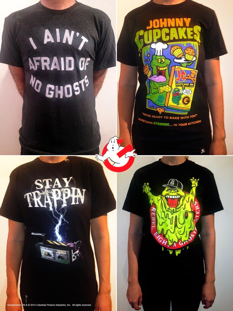 Gallery1988's Ghostbusters 30th Anniversary T-Shirt Collection by Homage, Johnny Cupcakes, LRG & Rebel8