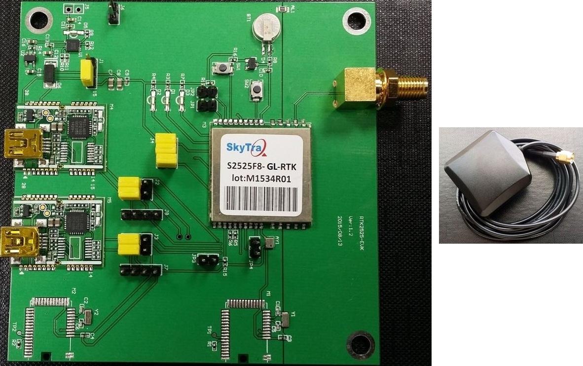 Ublox M8p Hardware