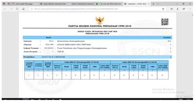 Daftar Instansi dan Link Pengumuman Hasil Kelulusan CPNS 2018