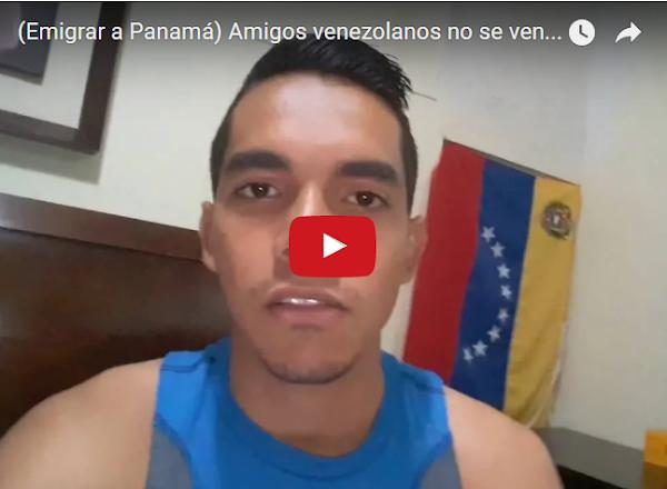 Gustavo nos pide que NO vayamos a Panamá