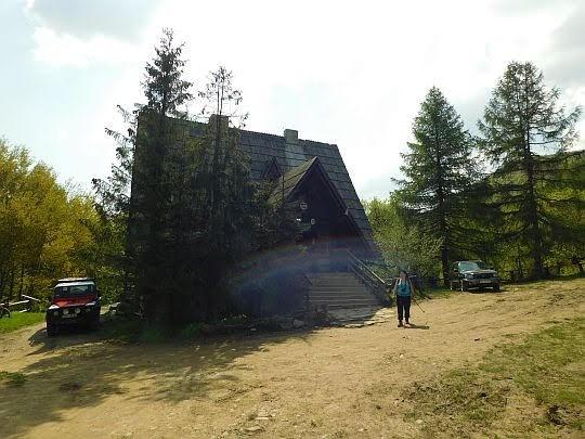 Bacówka PTTK pod Małą Rawką.