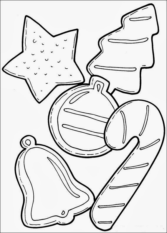 fun coloring christmas pages | Fun Coloring Pages: Christmas Ornaments Coloring Pages