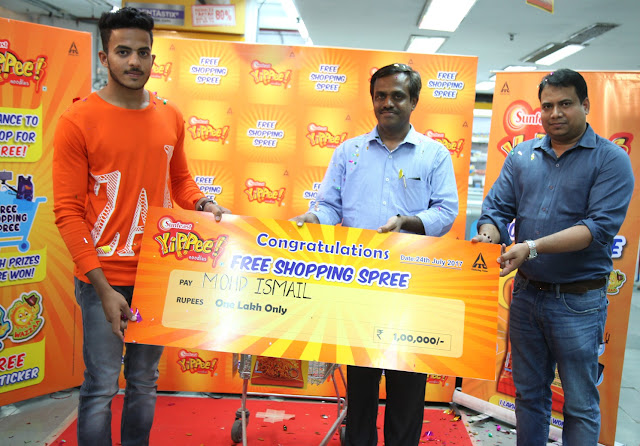 A YiPPee! moment, Mohd Ismail wins Sunfeast YiPPee Shopping Spree worth Rs 1 lakh!