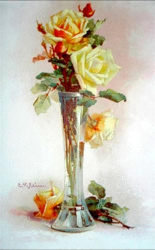 Розы художницы Катарины Кляйн