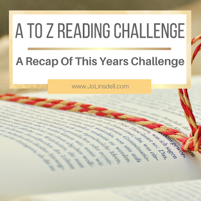A to Z Reading Challenge 2018 Recap