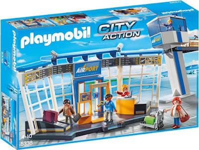 JUGUETES - PLAYMOBIL City Action  5338 Aeropuerto con torre de control   Edad: 4-10 años | Comprar en Amazon España