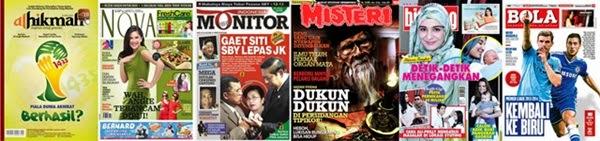 Ragam Bentuk Media Cetak, tabloid, reka bentuk surat kabar, jurnal rozak