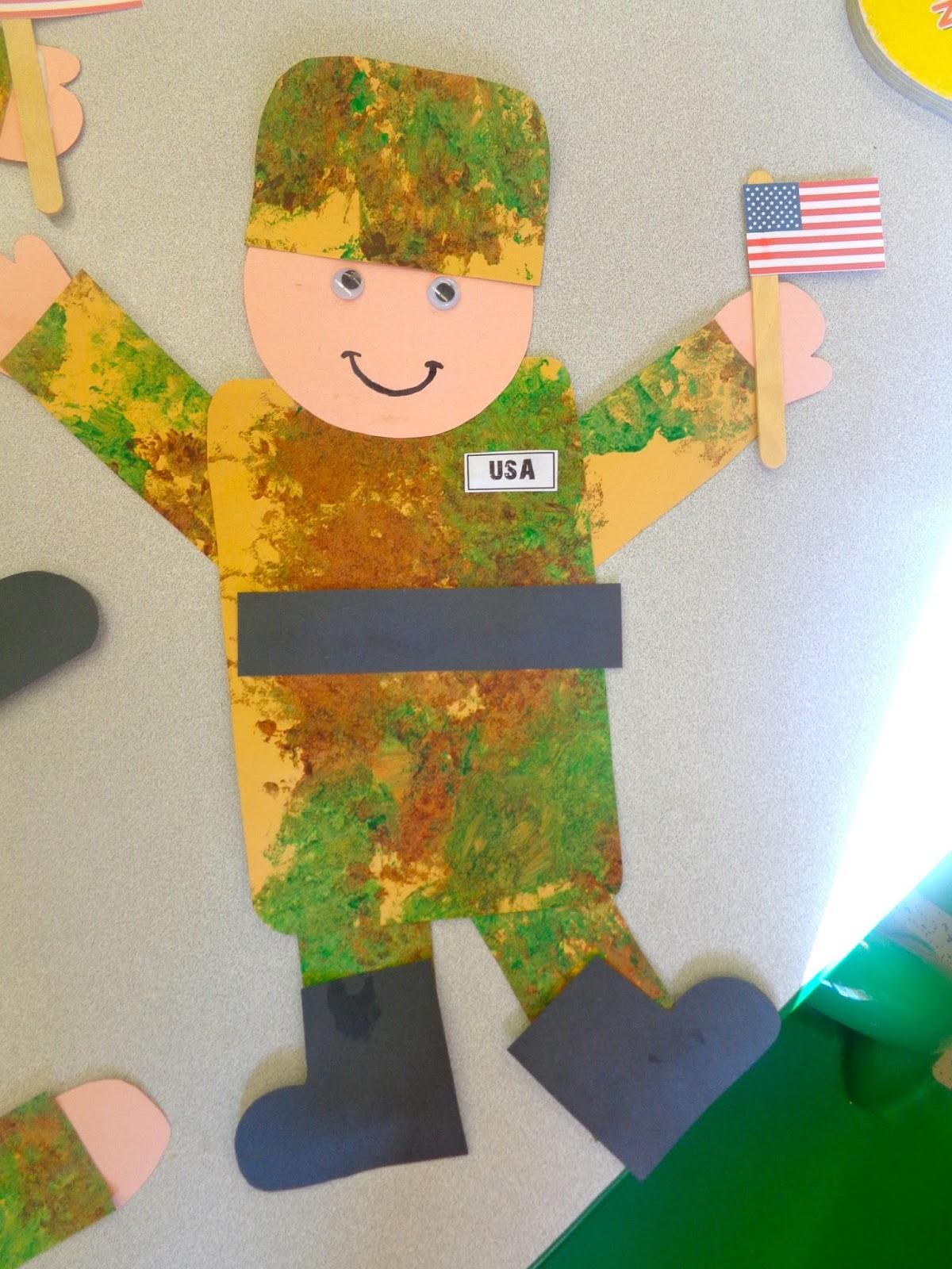 Terrific Preschool Years Veterans Day