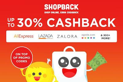 Info Promo Harga Diskon / Cashback Dari ShopBack