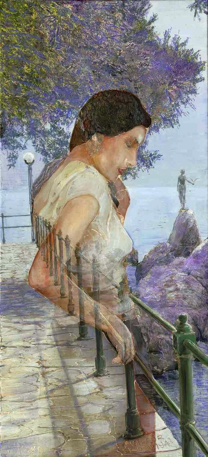 Хорватский художник. Trnski Velimir