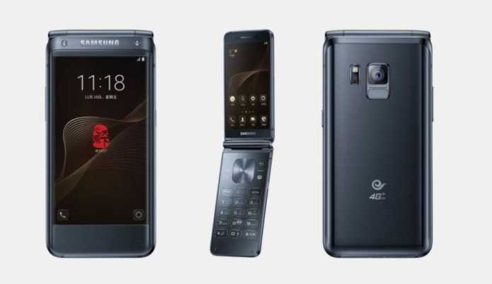 SMARTPHONE FLIP PERTAMA BERSPESIFIKASI TINGGI SM-W2018 KELUARAN SAMSUNG