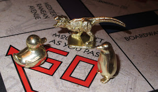 The 3 new Monopoly tokens