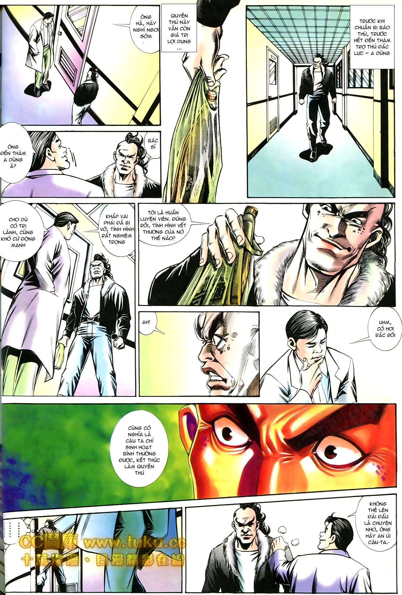 Người Trong Giang Hồ chapter 197: quạ đen báo thù trang 26