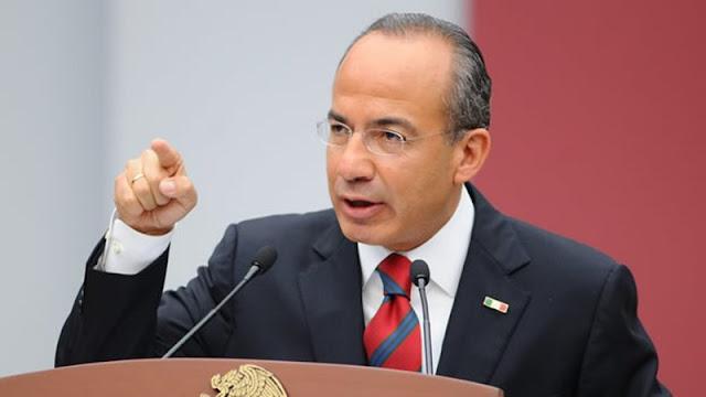 Le reclaman a AMLO porque él impuso a Abarca, que no se queje: Calderón.