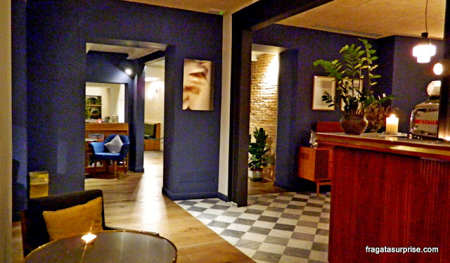 Sala de estar do Hotel C-Diplomat, Florença