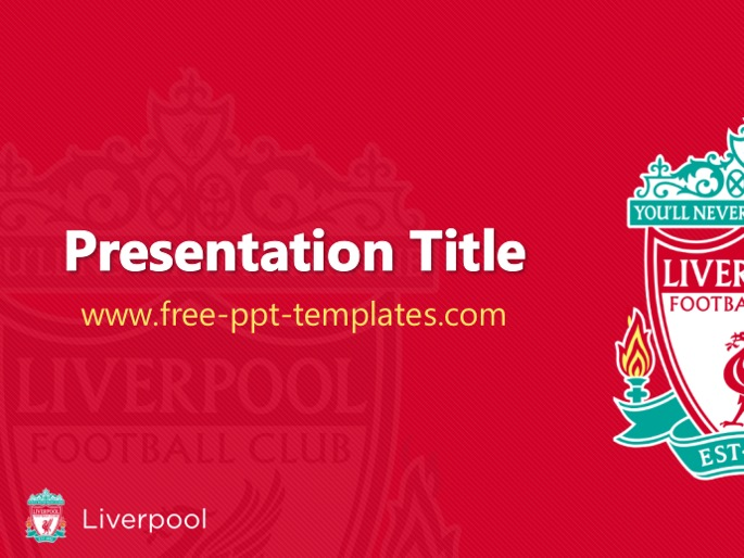 Liverpool Ppt Template