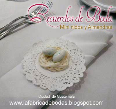 venta de almendras dulces blancas para nidos de recuerdo de boda y eventos en guatemala