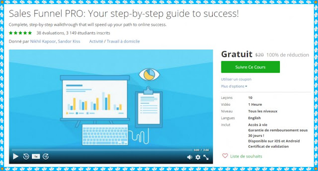 100 Free Sales Funnel PRO Your Step By Step Guide To