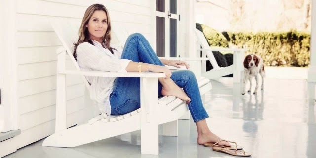 aerin lauder jeans stories