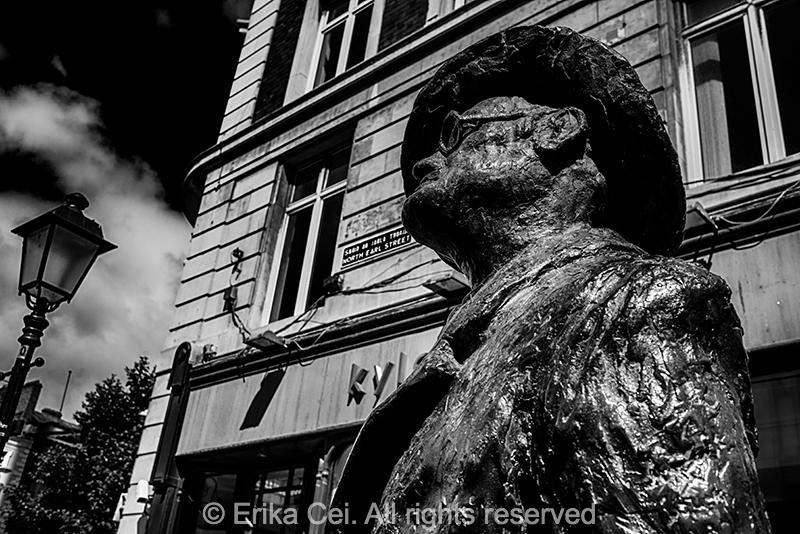 Joyce Statue Dublin Ireland
