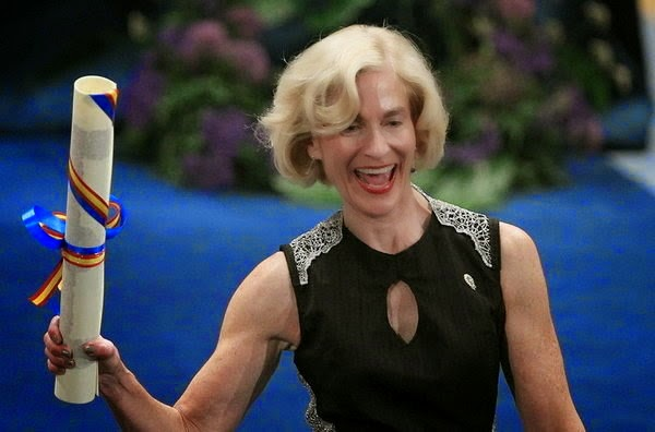 Martha Nussbaum - ecstatic with herself