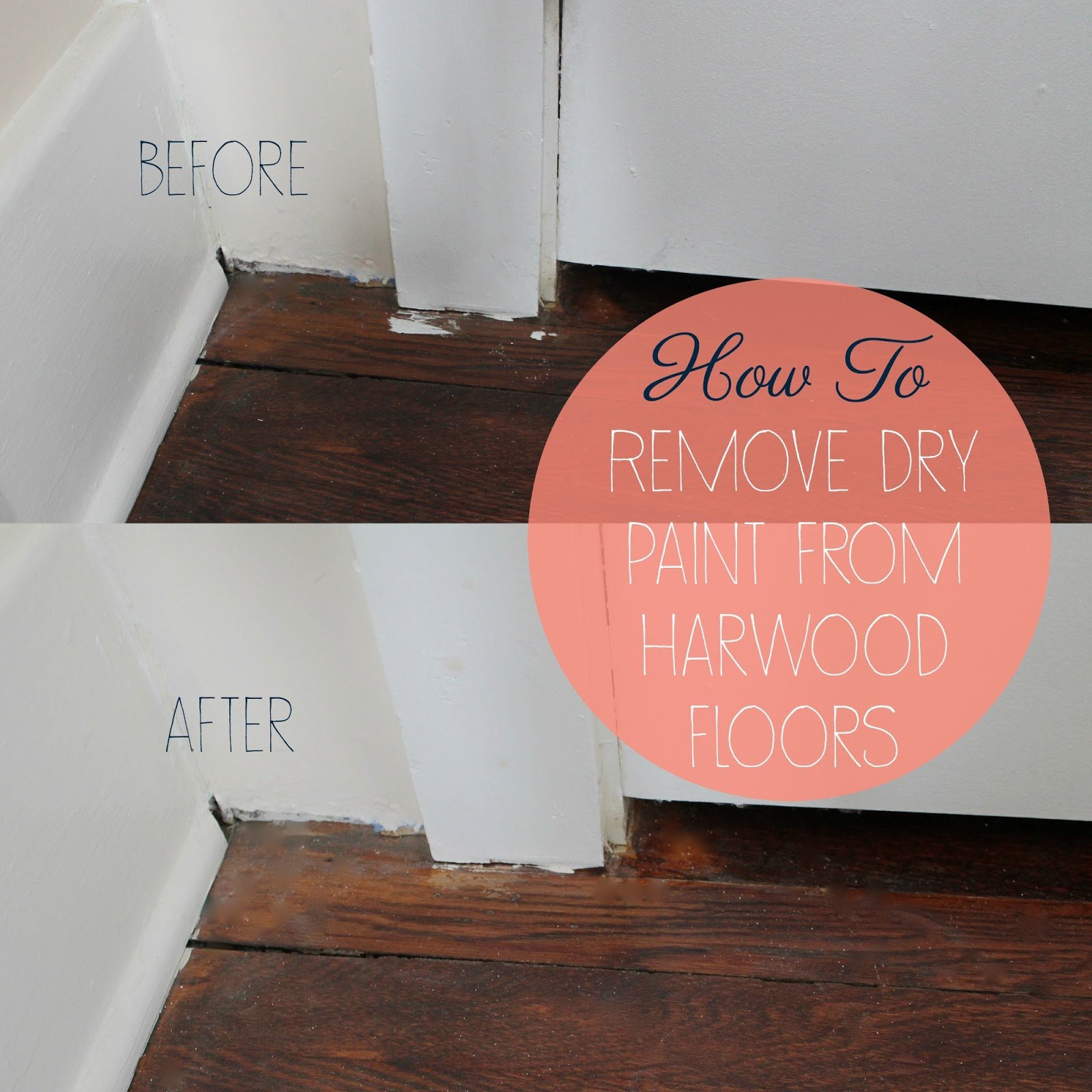 Perfect How To: Remove Dry Paint From Hardwood Floors