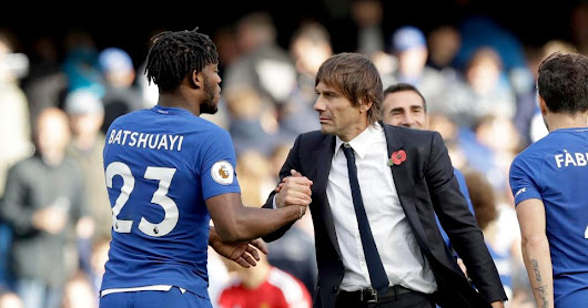 Batshuayi to leave Chelsea on loan in January as Antonio Conte targets a new striker for squad
