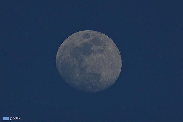 luna del 8 de abril de 2017