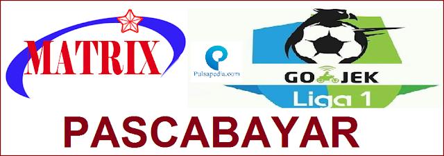 Gojek Liga 1 2018 Tayang di Matrix Garuda Pascabayar