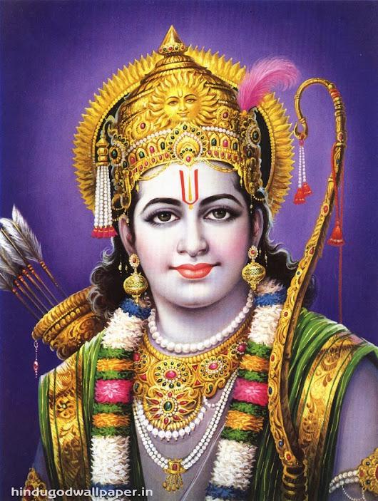 God Shri Ram Wallpaper