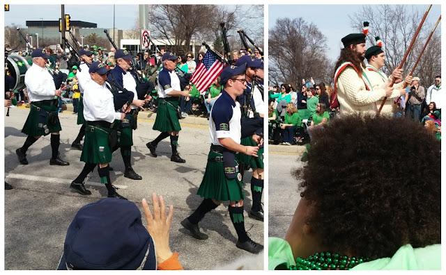 Bagpipes at Dublin's St. Patrick's Day Parade #IrishisanAttitude #SoDublin