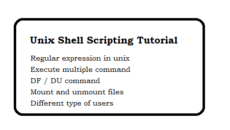 Unix Shell Scripting Tutorial - page 4