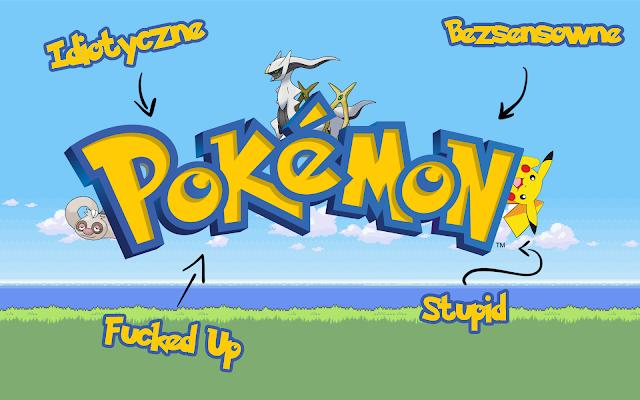 Pokemons are dumb and Arceus