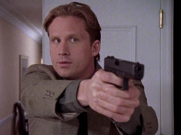 Reed Diamond as Mike Kellerman on Homicide: Life on the Street