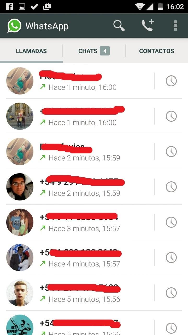 Activar las llamadas gratis de WhatsApp
